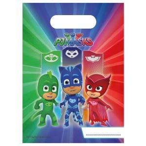 PJ Masks Lootbags 6pc