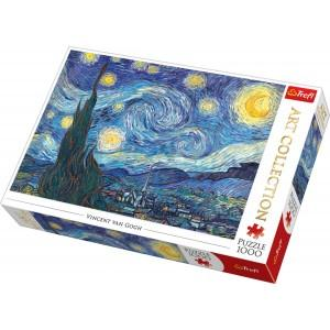 Puzzle 1000pc Art Collection Starry Night
