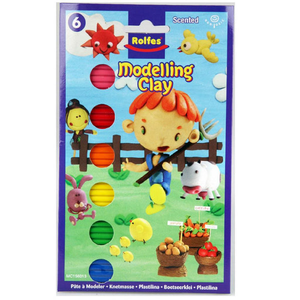 Rolfes Modelling Clay 6pc 100g