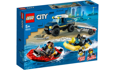 60272 Elite Police Boat Transport City