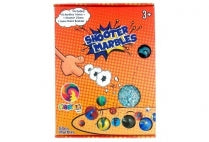 Marbles - Shooters 18x16mm; 1x25mm & Rule Book