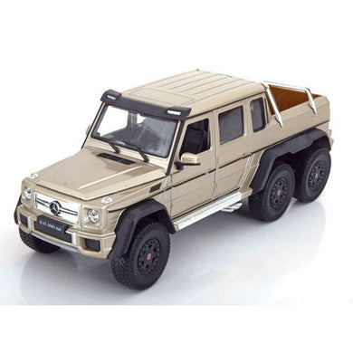 Mercedes Benz G63 AMG 6x6 Gold (scale 1 : 24)