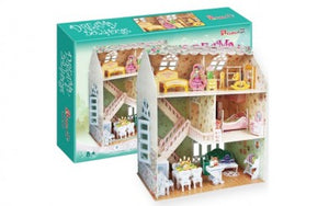 Puzzle 160pc 3D Dreamy Dollhouse