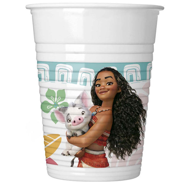 Moana Party Cups 8pc