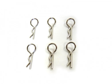 Body Clips 6pc