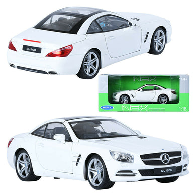 Mercedes Benz SL500 Hard Top White 2012 (scale 1 : 18)