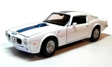 Pontiac Firebird Trans AM White 1972 (scale 1 : 24)