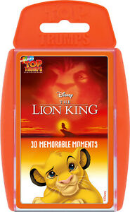 Top Trump Cards Lion King (Memorable Moments)