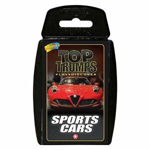 Top Trump Cards Sports Cars