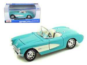 Chevrolet Corvette 1957 (scale 1 : 24)
