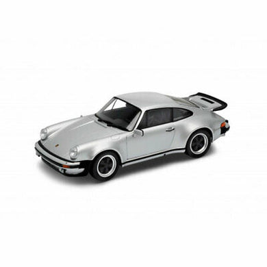 Welly Porsche 911 Turbo 3.0 (scale 1 : 24)(Silver)