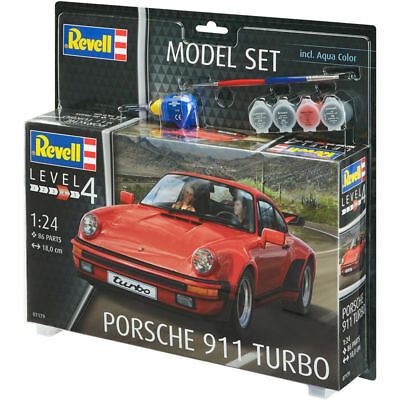 Model Set Porsche 911 Turbo (scale 1 : 24)