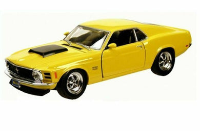 Ford Mustang Boss 429 Yellow 1970 (scale 1 : 24)