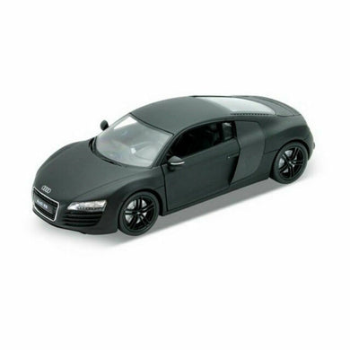 Audi R8 matt Black (scale 1 : 24)