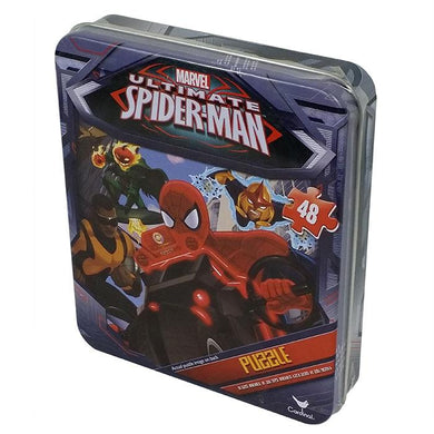 Puzzle 48pc Spiderman (In Tin)