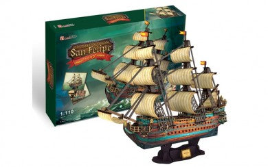The Spanish Armada - San Felipe 248pc