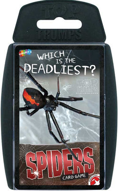 Top Trump Cards Spiders