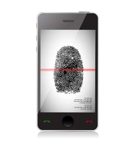 mobile phone fingerprint scanning