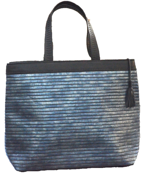 Atelier Nihal Blue Pearly Tote