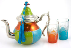 Hand Painted Teapots