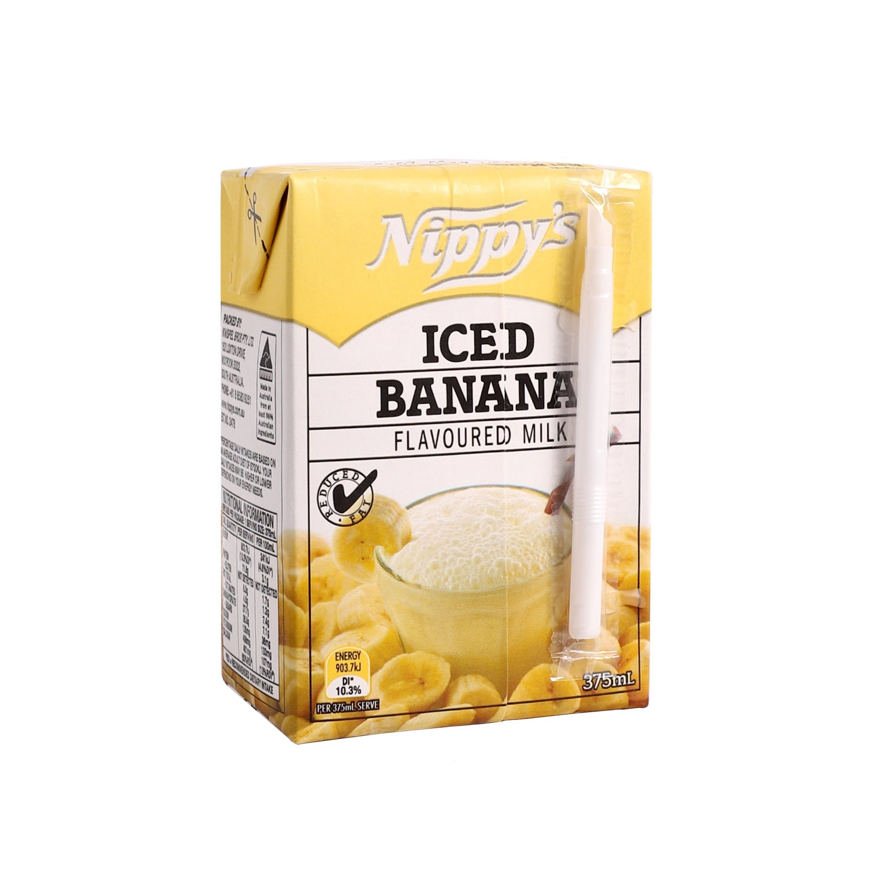 Banana Flavoured Milk [375ml]-Taste Singapore