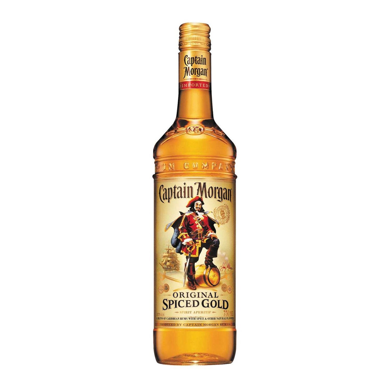 Captain Morgan Original Spiced Gold Rum [700ml]-Taste Singapore