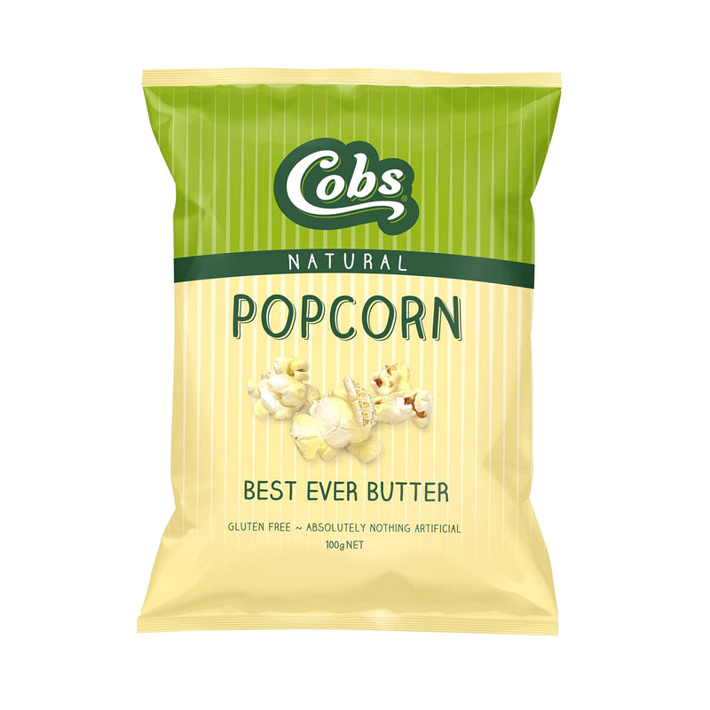 Cobs Natural Butter Popcorn [100g]
