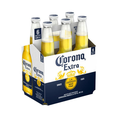 Corona Extra Beer Pint [6 x 355ml]-Taste Singapore