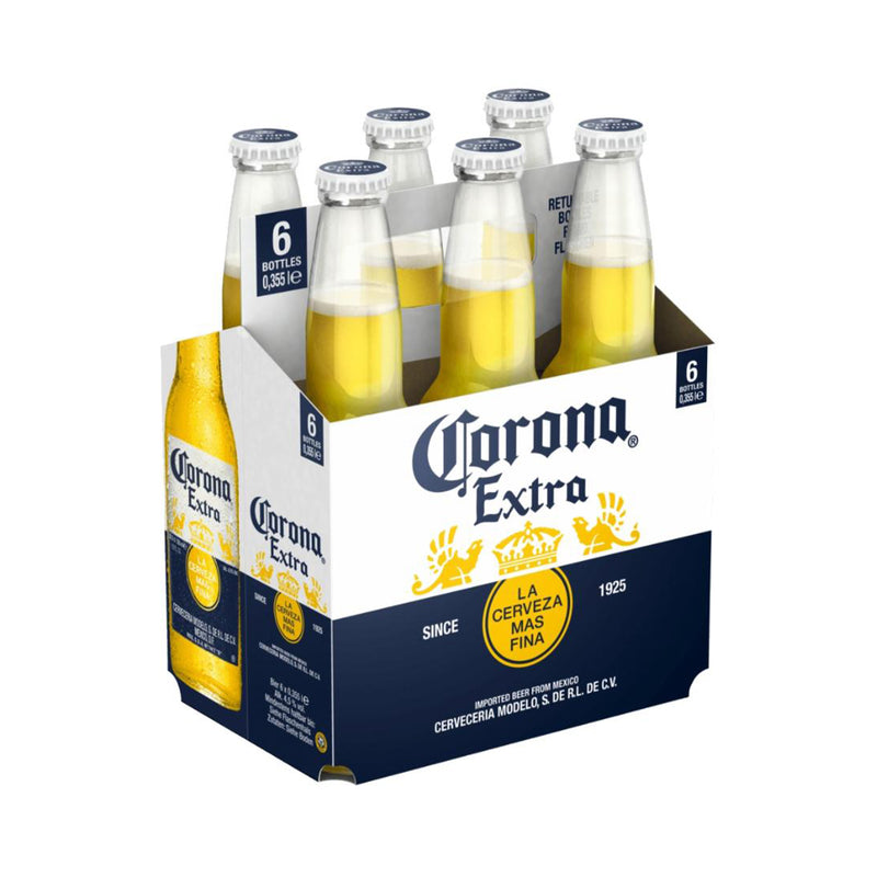 Corona Extra Beer Pint [6 x 355ml]