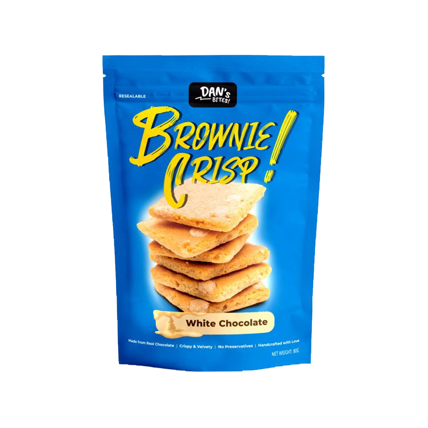 White Chocolate Brownie Crisp [80g]-Taste Singapore
