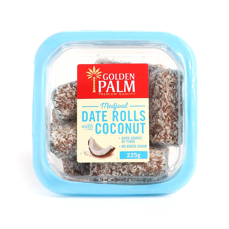 AU Date Rolls with Coconut [225g]