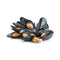 Frozen Whole Cooked Black Mussels [454g]