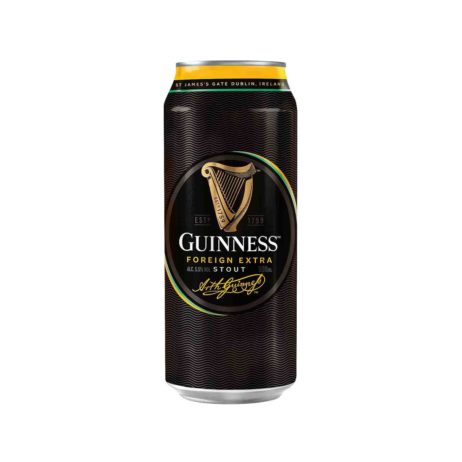 Guinness Foreign Extra Stout Beer Can [500ml]-Taste Singapore