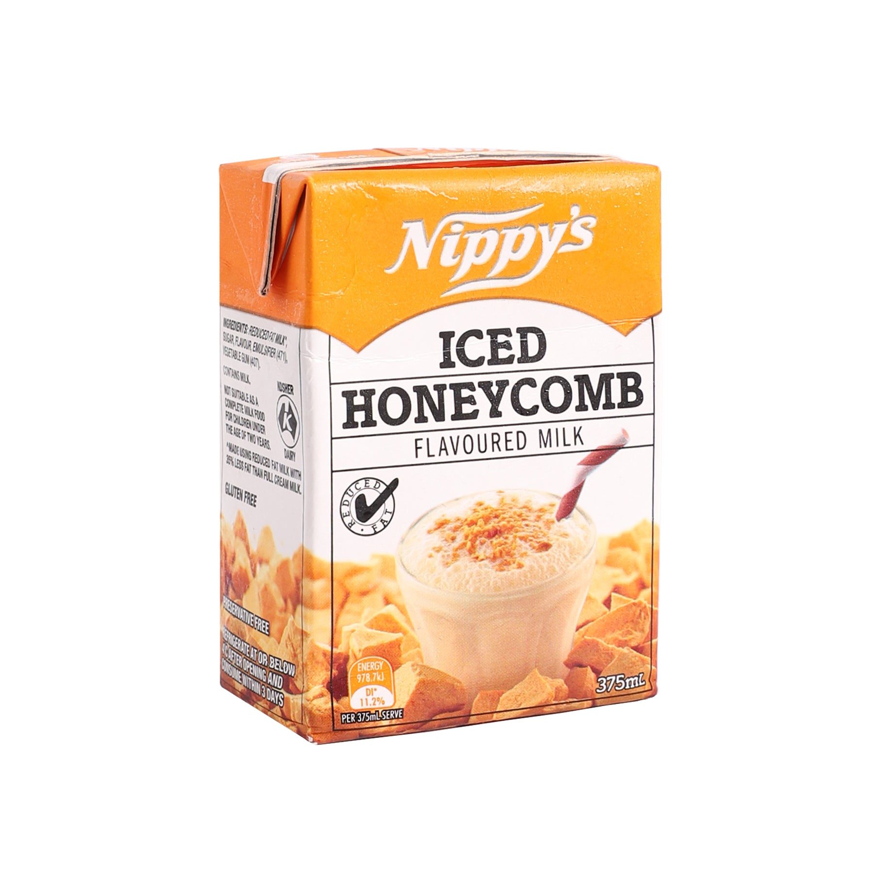 Honeycomb Flavoured Milk [375ml]-Taste Singapore