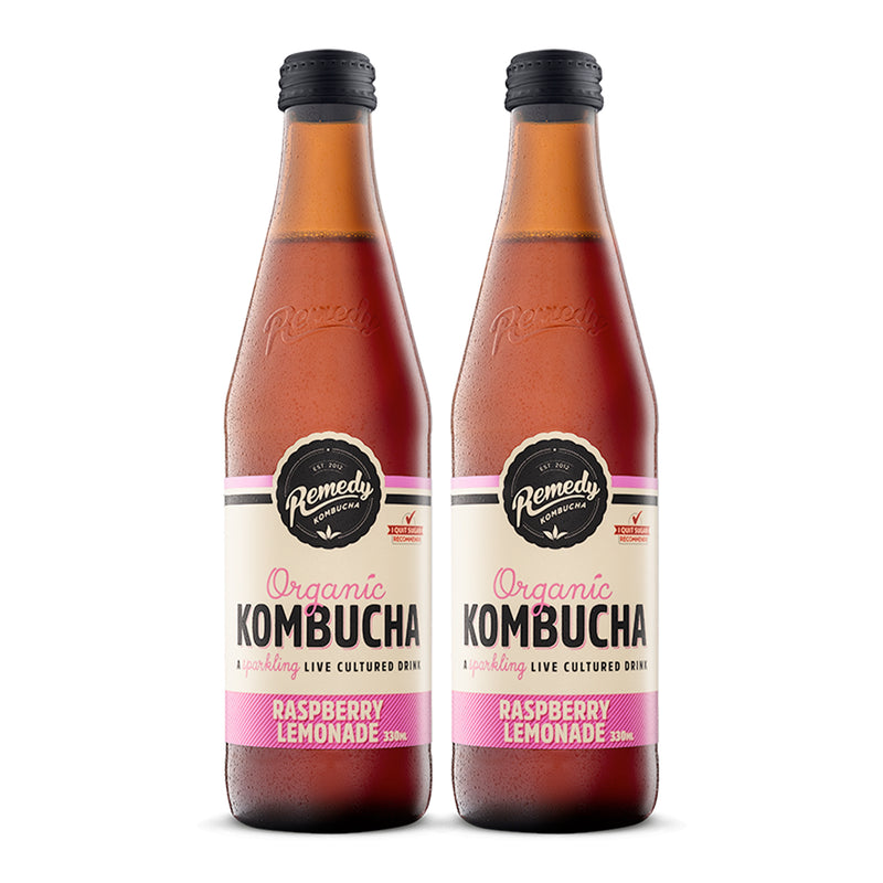 Kombucha Raspberry Lemonade [330ml] x 2 Btl