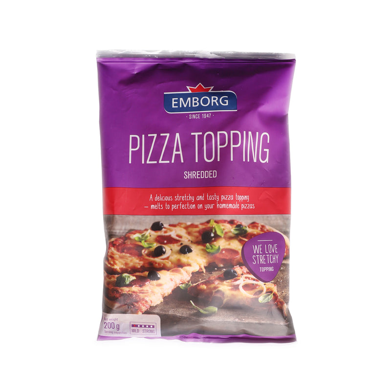 Natural Shredded Pizza Topping [200g]