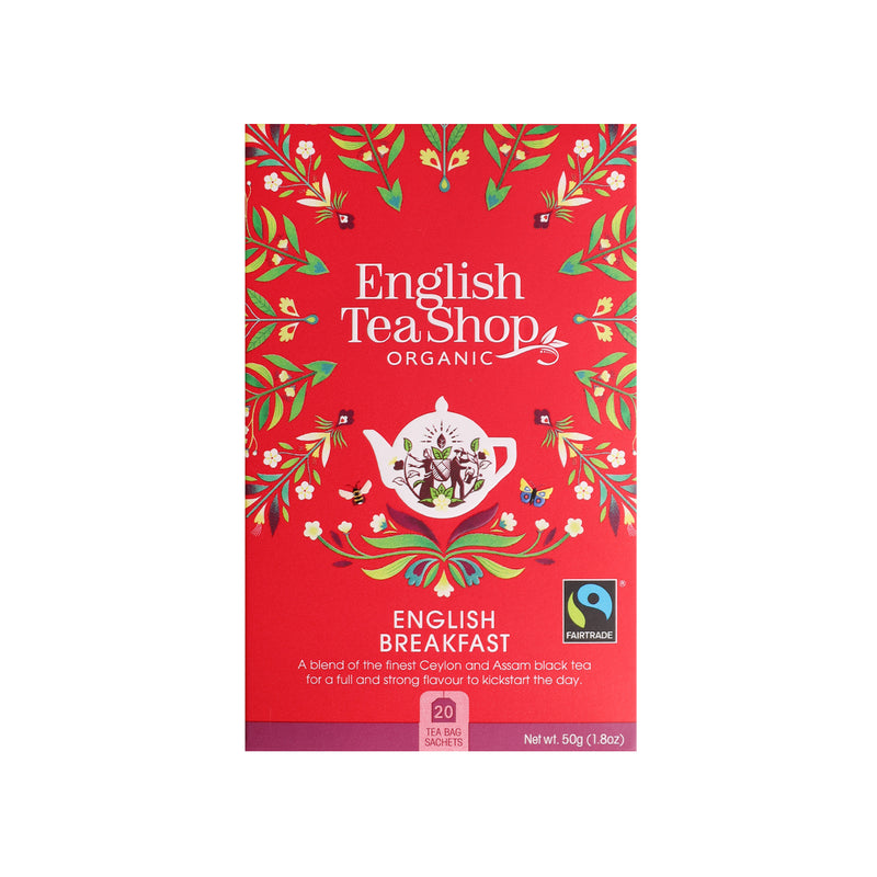 Organic English Breakfast Tea [20s] [50g]