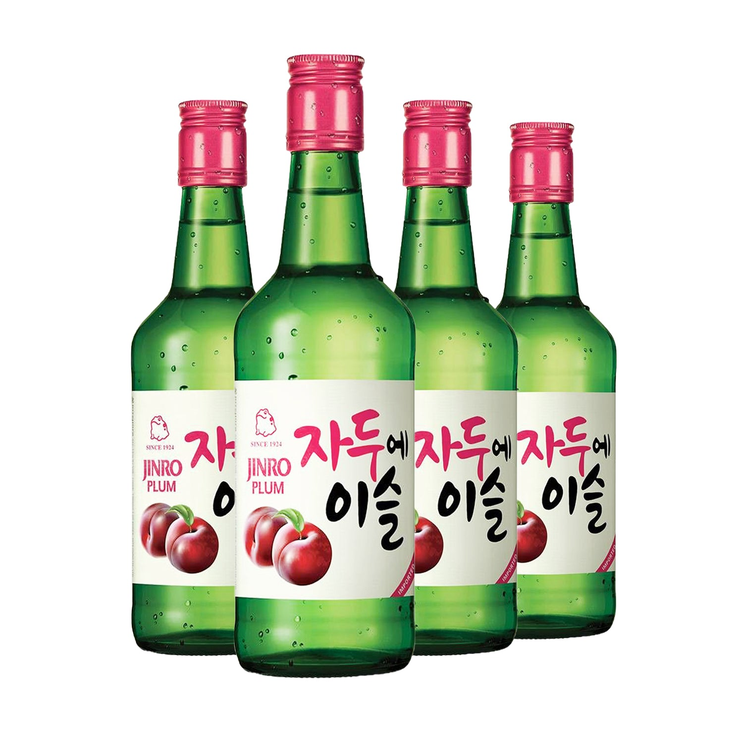 Plum Soju [360ml] x 4 Btls-Taste Singapore