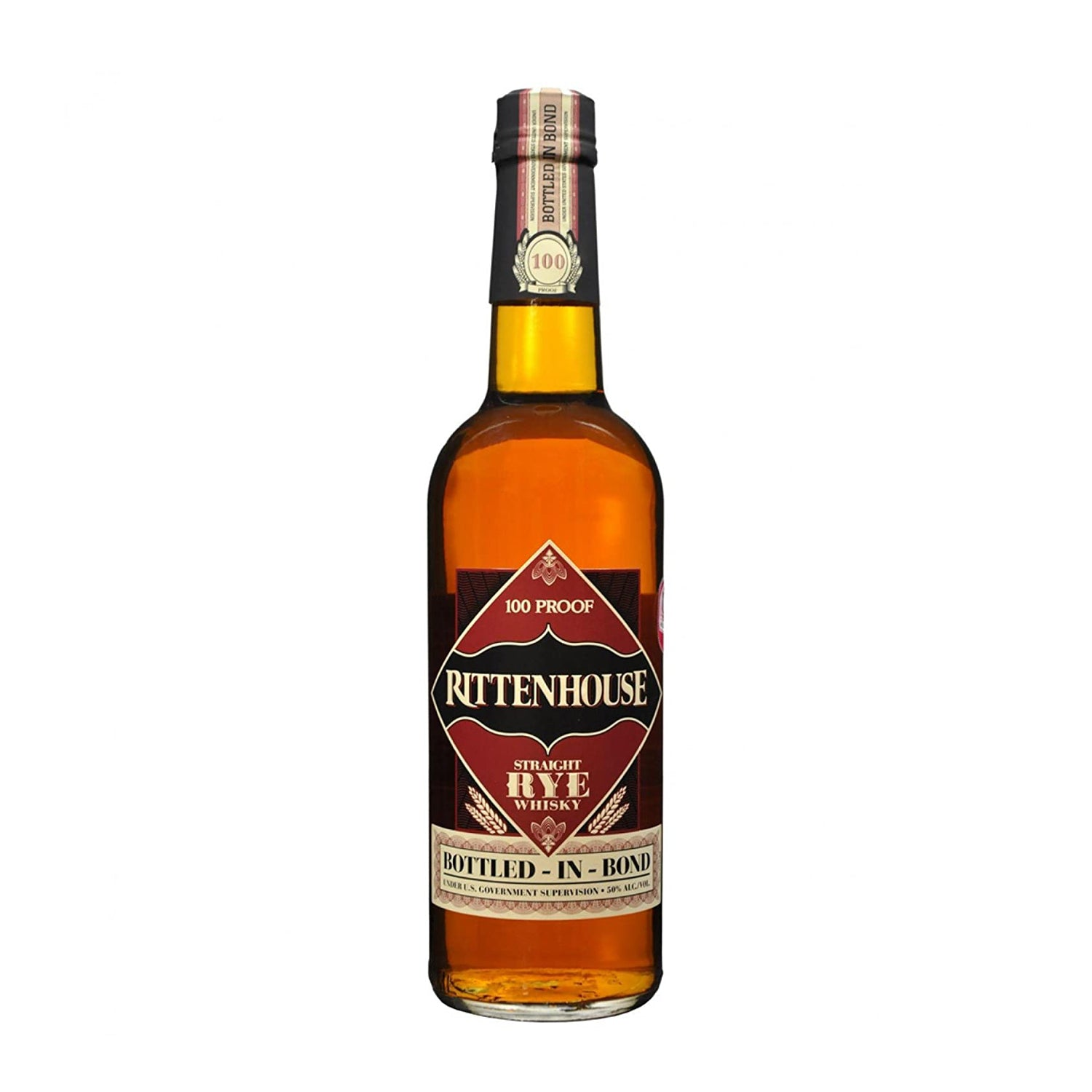 Rittenhouse Rye 100 Whiskey [750ml]