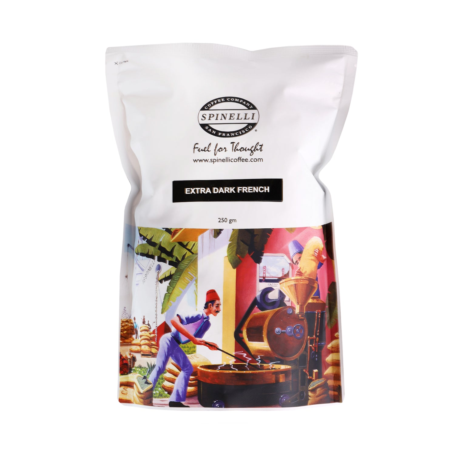Roasted Beans - Extra Dark French Blend [250g]