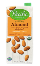 Organic Almond Milk Unsweetened [946ml]