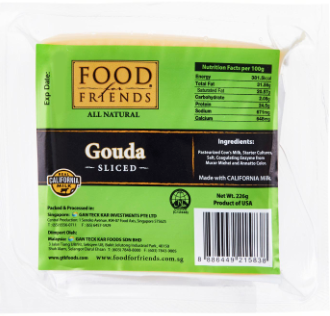 Gouda Sliced Cheese [226g]