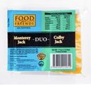 Colby Jack / Monterey Jack Duo Sliced Cheese [226g]