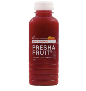 Presha Fruit Blood Orange Juice [350ml]