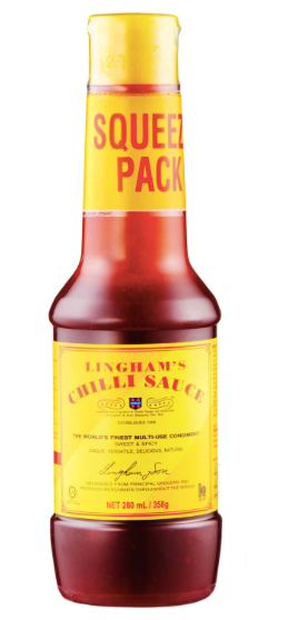 Chilli Sauce Squeeze Pack [280ml]-Taste Singapore