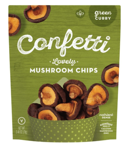 Lovely Mushroom Chips Green Curry [70g]-Taste Singapore