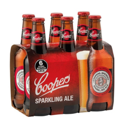 Coopers Sparkling Ale [6 X 375ml]-Taste Singapore