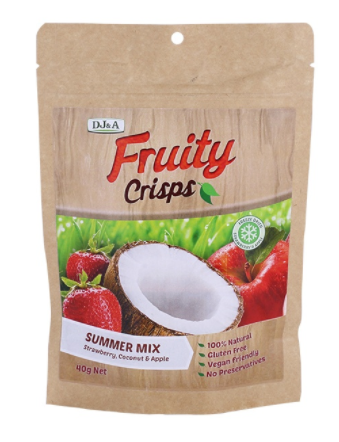 Fruity Crisps Summer Mix [40g]-Taste Singapore