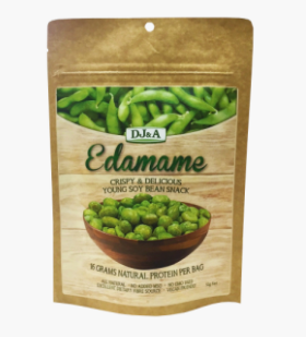 DJ&A Nature's Protein Edamame Snack [52g]