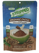 DJ&A Stripped Organic Cacao Coconut Crisps [70g]